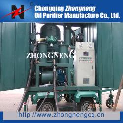 Zym Double-Stage Remorque mobile-isolation sous vide purificateur d'huile
