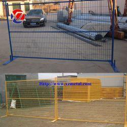 Revêtement poudré Canada Standard Treillis Soudés clôture temporaire mobile
