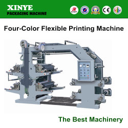 Machine d'impression quatre couleurs souple