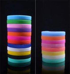 Barato Manufactural Eco-Friendly adaptado 100% de silício a Pulseira o ID do Código de Barras da borracha Bracelete Bandas de mão pulseiras de Silicone