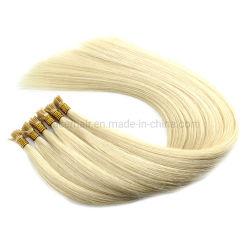 Virgen de la extensión de cabello de alta calidad Remy extremo grueso la queratina del pelo de punta ME