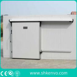 Porta Deslizante do Quarto Automático do Congelador do Armazenamento Frio para a Fábrica do Alimento E da Droga