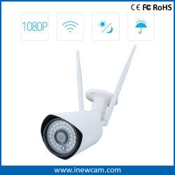 Длинный диапазон 1080P P2p Wireless Bullet IP-камера для макс. 12 пользователей