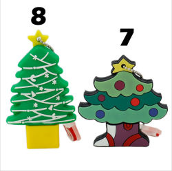 Árvore de Natal Dom Unidade Flash USB para o logotipo personalizado