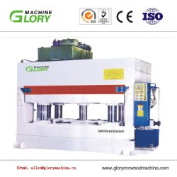 Furnierholz, das Vorstand der Maschinen-Particle/OSB heiße Presse herstellt, auf Holzbasis Panel-Herstellungs-Maschinerie maschinell zu bearbeiten