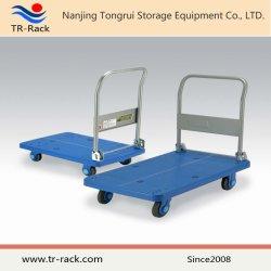 O metal Plataforma rebatível Handtruck De Tr-Rack
