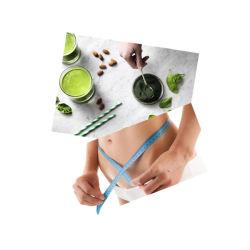 De Tabletten van het Vermageringsdieet van Spirulina -- Natuurlijke Geneeskunde en Functionele Voeding voor Menselijk Super Voedsel