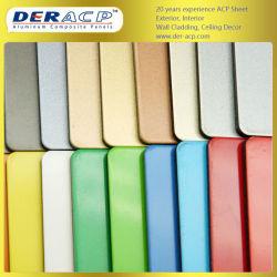 5mm/0,51 mm en aluminium brossé colorés de feuilles de plastique pour armoire de cuisine