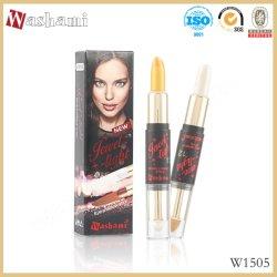 Privé Etiket 2 van Washami in 1 Oogschaduw van de Make-up & Pen van het Hoogtepunt
