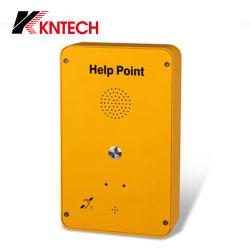 SIP 전화기 핫 판매 그랜드스트림 도움말 포인트 Knzd-39 Kntech 비상 전화