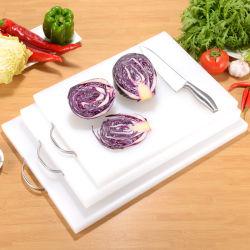 Eco Friendly Food Grad Cuisine planche à hacher en plastique de couleur personnalisés set