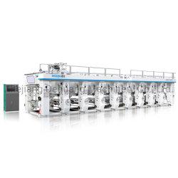 ماكينة الطباعة 9 ألوان لفيلم اللفة البلاستيكية الأكثر مبيعًا