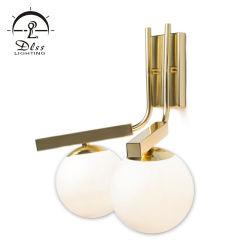 2019 de hete Verkoop ontwerpt de Verschillende Lamp van de Muur van het Glas van het Ijzer van de Vorm Binnen