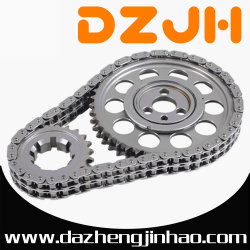 Corrente de rolo Duplex de melhor qualidade usado em motores de automóveis