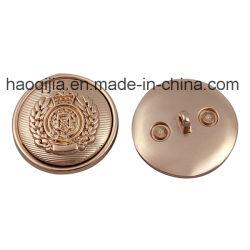 Moda Botão Metal exclusivo botão de liga de zinco Acessórios Grament
