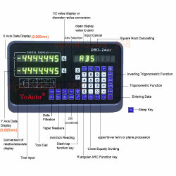 Lectura digital de 2 ejes para la molienda y máquina de torno CNC