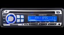 LCD van het Type van Htn Blauw Comité dat in AutoVertoning DVD wordt gebruikt