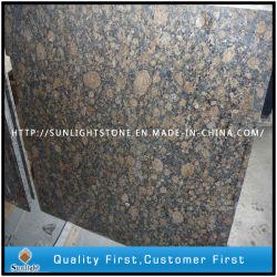 Les couleurs marron Baltique naturelle des granites de pierre pour les carreaux, des comptoirs