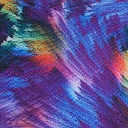 Polyester Hoog Oxford 600d - dichtheidsPVC/PU Borstels die Stof afdrukken