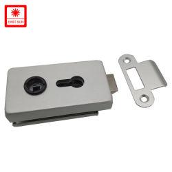 Zink-Legierungs-Glasgriff-Tür-Befestigungsteil-Kombinations-Sicherheits-Verschluss-Zylinder-Nut-sicherer Tür-Verschluss (GLHL-111AL)