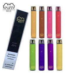 13 couleurs de la bouffée Max Bar appareil jetable 2000 inhalations 8.5ml Pre-Filled Vape Pods 1200mAh Batterie Aviliable bouffée plus votre image de marque personnalisée