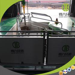 Les fabricants de matériel de porcs de la conception de calage d'exposition utilisé farrowing des caisses de l'équipement de la cage de cochon