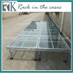 Rk Wholesale 1m*1m Plexiglass Decent Stage mit Four Leg