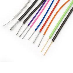 Roestvrijstalen kabel met kunststofcoating en gegalxaniseerd staaldraad