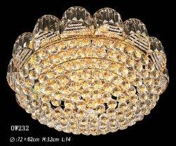 Novo Design Luxury levou lustre de cristal Antique Lâmpada Pendente Ow232