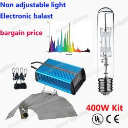 Fabrik Direktversorgung Großhandel Preis Metall Halogen-Lampe 400W Pflanze Wachsende Lampe
