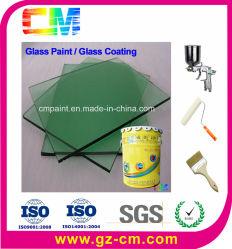 Pintura de vidrio- basado en agua plana impermeabilización revestimiento de vidrio transparente