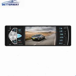 """Auto-rádio Betterway 1 DIN Autoradio 4.1"""" HD Tela sensível ao toque do visor digital FM Bluetooth SD USB multimídia de Rádio leitor de MP3 4022D"""