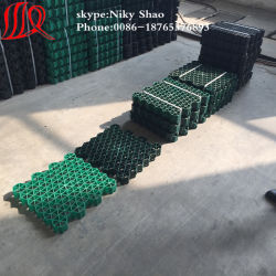 プラスチック格子天井の草のペーバー