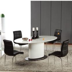 Het moderne Hoge Meubilair van de Eetkamer polijst Eettafel (wlf-DT005)