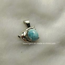Серебристые Larimar Jewellery-Natural пульта управления (P0216)