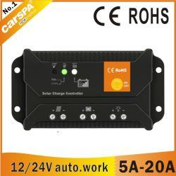 12/24 Auto. Distinguer la tension 10A Contrôleur de charge solaire (ENS12/24-10)