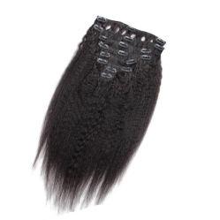 Virgin cheveux Remy Hair Extensions de cheveux brésiliens de Yaki