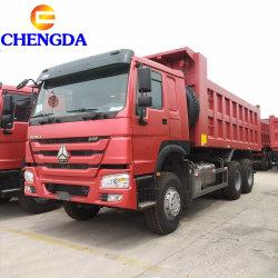 사용한, 새로운 HOWO 6X4 덤프 트럭 팁 주는 사람 트럭 사용된 트럭