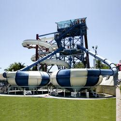 Parc aquatique de diapositives ,Double vasque diapositive (ZC/DX/SB2)