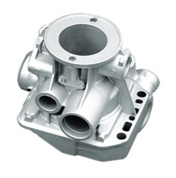 Metal Casting Parts-Alu Die Casting and Machined Parts (HS-ALU-007)