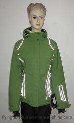 女性の冬のジャケットの高い可視性の多機能のハイキングの屋外のウインドブレイカー