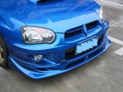 Subaru Impreza Wrx (서쪽 c)를 위한 PU Plastic Front Diffuser