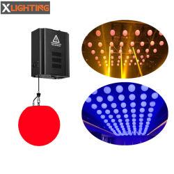고품질 디스코 공 DMX 512 드는 풀 컬러 단계 LED 활동적인 빛