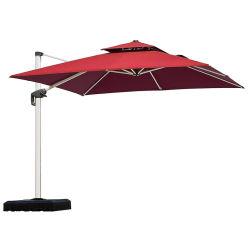 뒷마당 정원용 캐틸레버 우산 대형 행잉 마켓 우산