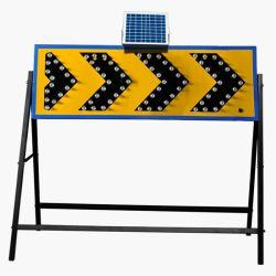 Flecha de luz LED de aviso de la dirección de flecha indicadora de tráfico de señal de tráfico