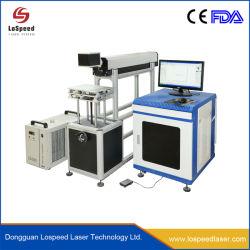 고속 CO2 Galvo 레이저 50W 마킹 기계; 가죽, 웨딩 카드 절단, 대나무, 목재 CO2 레이저 가공 기계