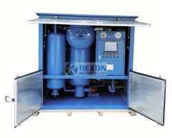 Vacuum elaborare la macchina del filtro dell'olio del trasformatore per asciugare e degassare da olio