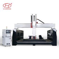 플라스틱 아크릴 알루미늄 합성 패널 제작용 5축 CNC 기계