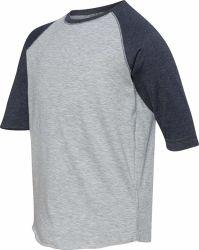 100% 모직 체조 운영하는 운동 대원 목 t-셔츠