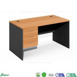 Fabrik-Zubehör-Schulmöbel-hölzerner Lehrer-Büro-Schreibtisch mit Fächern